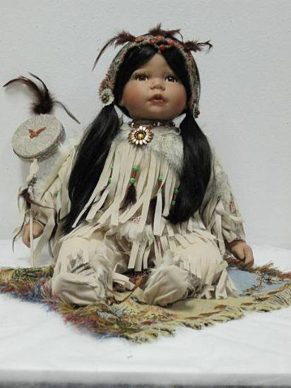 S20560 20 Quot Willow Tree Porcelain Native American